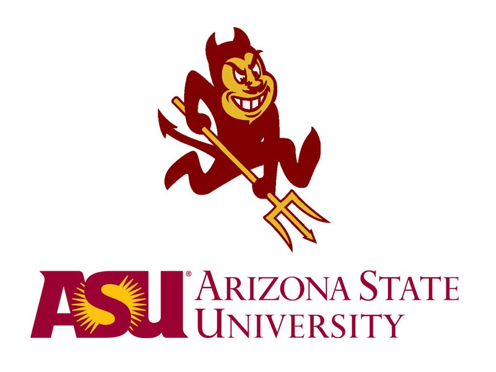 Arizona State University Logo Wallpaper Arizona State University 1024x768