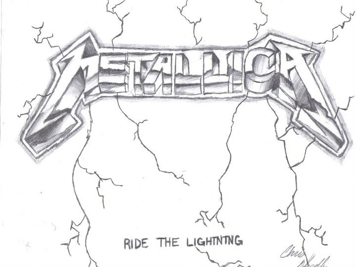 Metallica Ride The Lightning Wallpaper Metallica ride the lightning 720x540