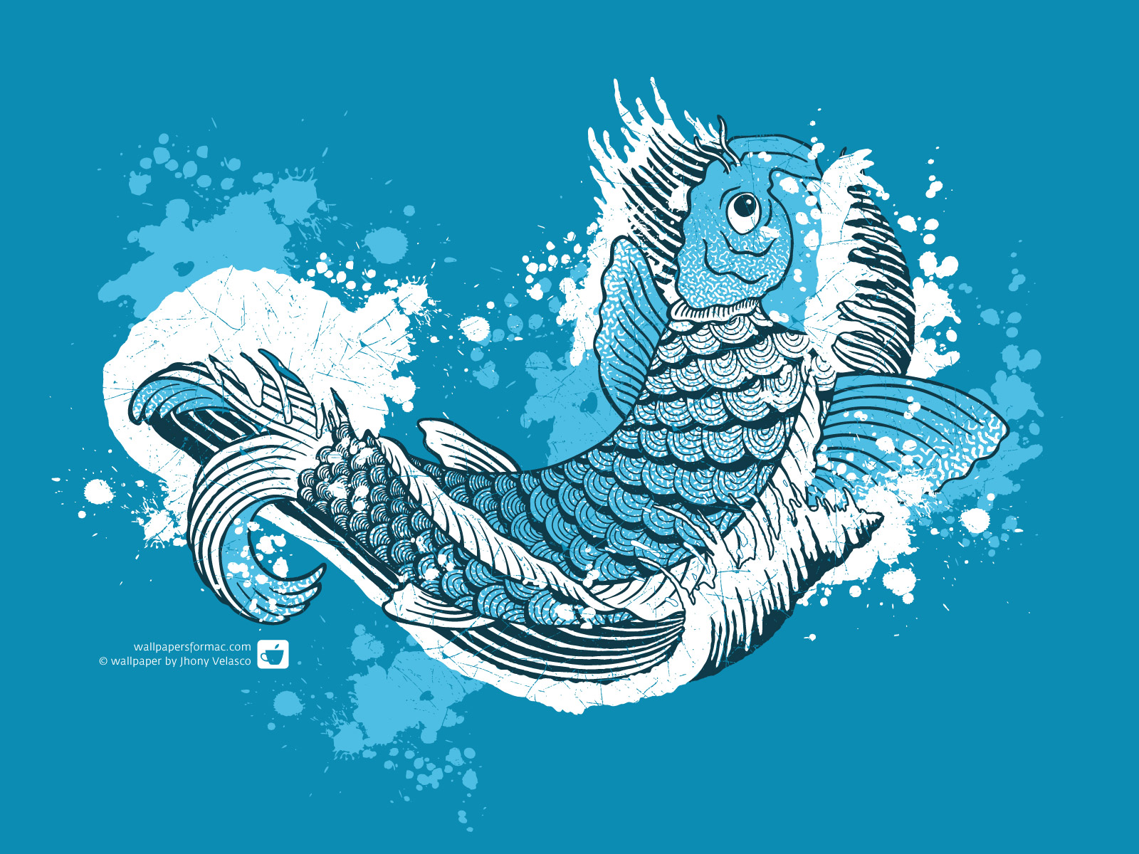 50 Koi Fish Wallpaper For Walls On Wallpapersafari