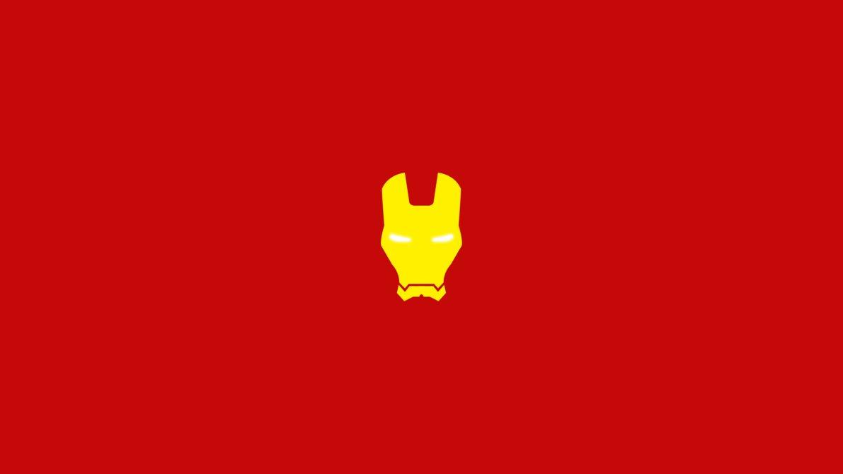 Iron Man Minimalist Wallpaper by Zabelon 1191x670