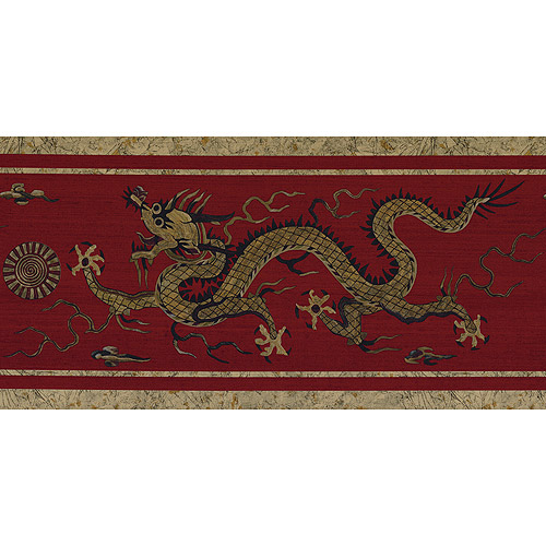 Cestial Dragon Wallpaper Border   Walmartcom 500x500