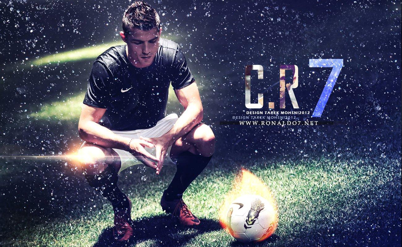 Hd Wallpaper Cristiano Ronaldo Peinture 1300x800