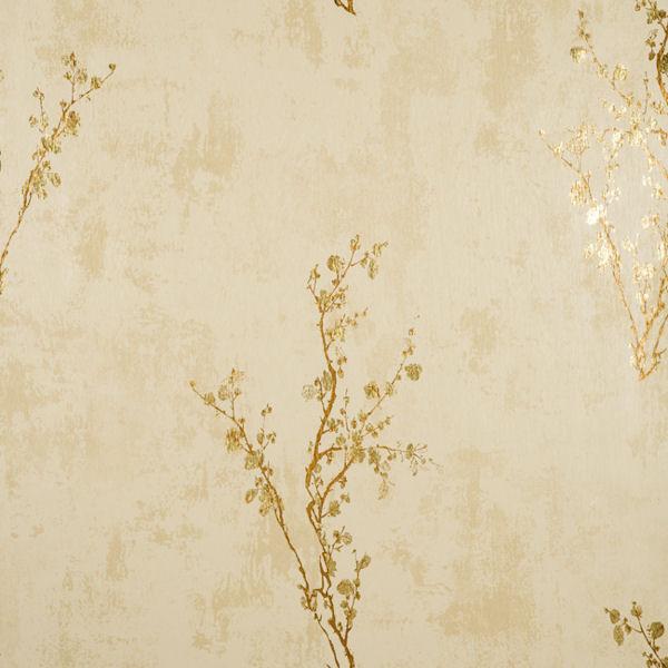Cream and Gold Zen Wallpaper   Wall Sticker Outlet 600x600
