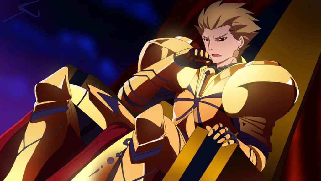 fate zero gilgamesh Fan Art by AstralNovas 1024x576