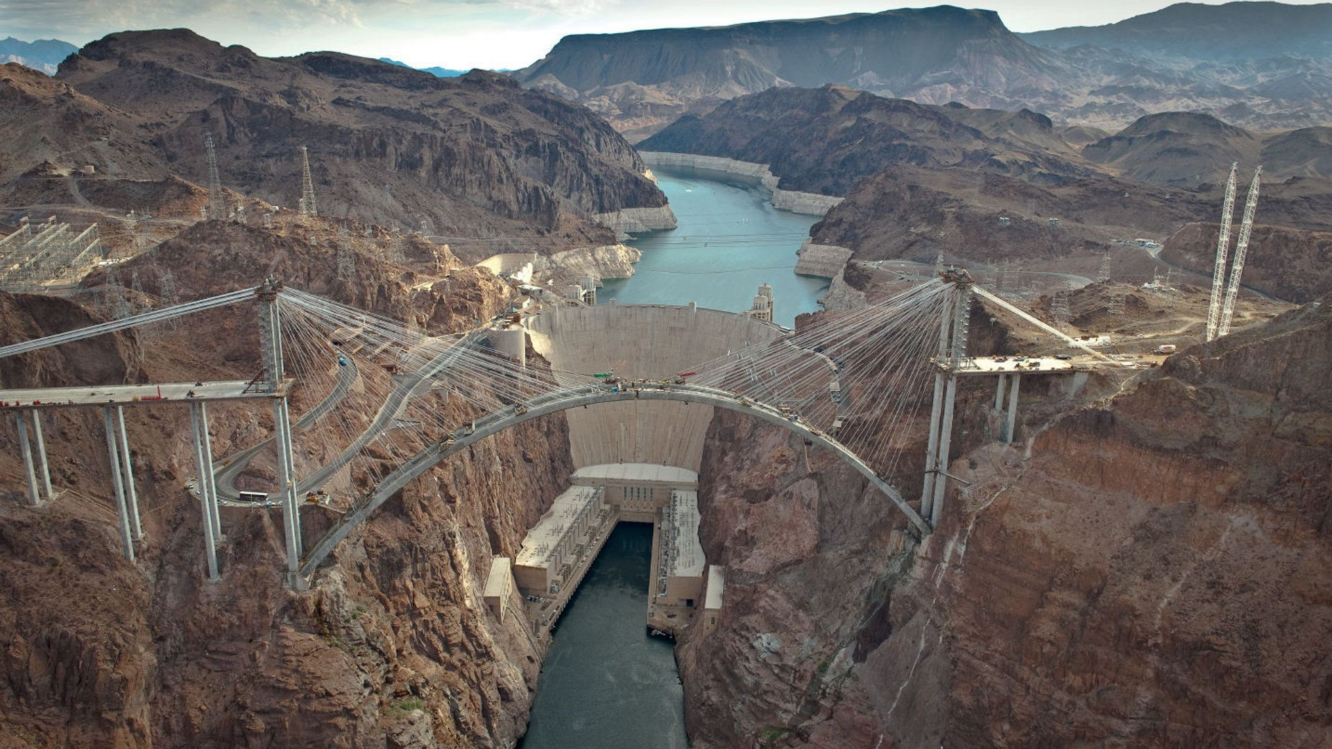 Hoover Dam in Nevada US Tourist Place Wallpapers HD Wallpapers 1920x1080