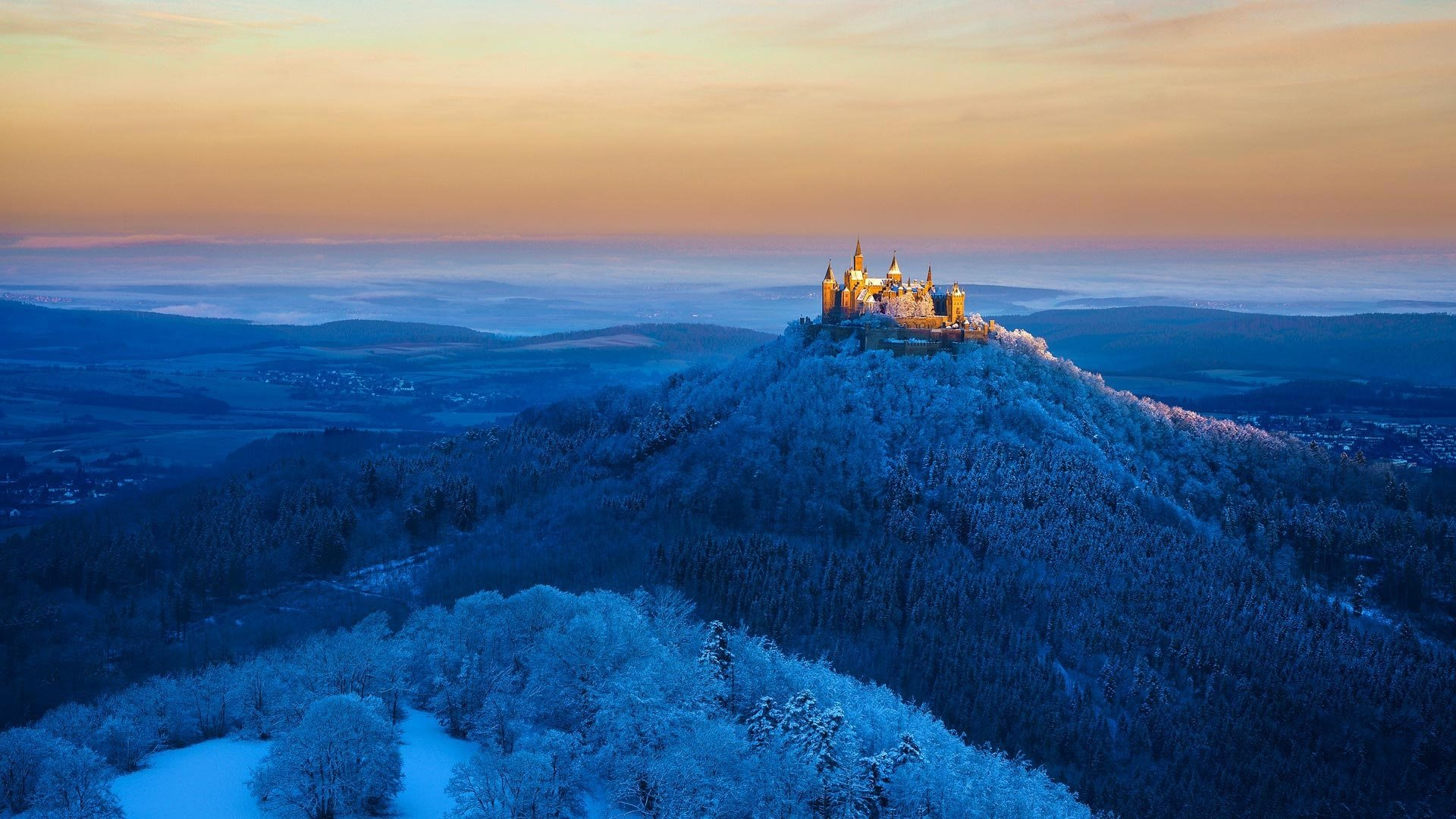 Hohenzollern Castle HD Wallpaper Background Image 1920x1080 1920x1080