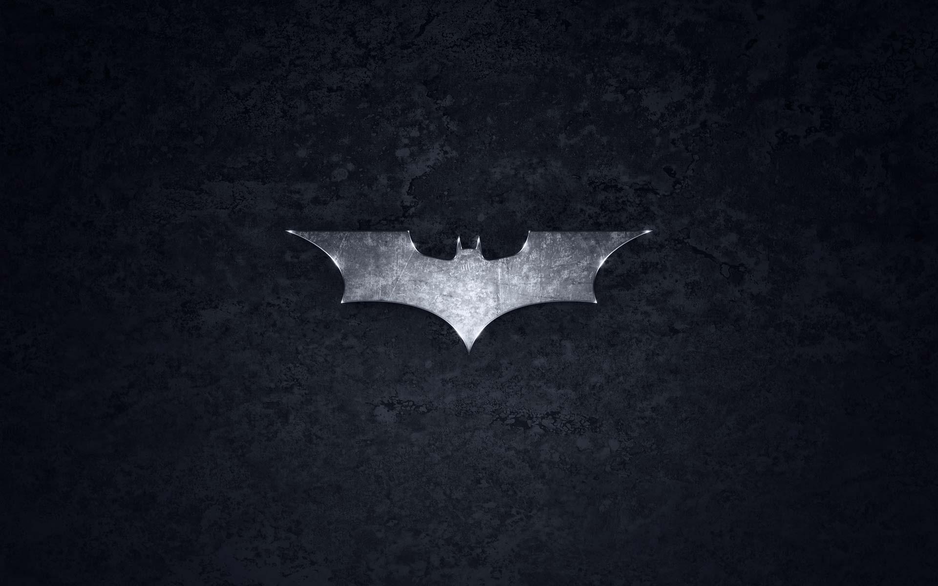 Steel Batman logo Wallpaper   Batman Wallpaper 1920x1200