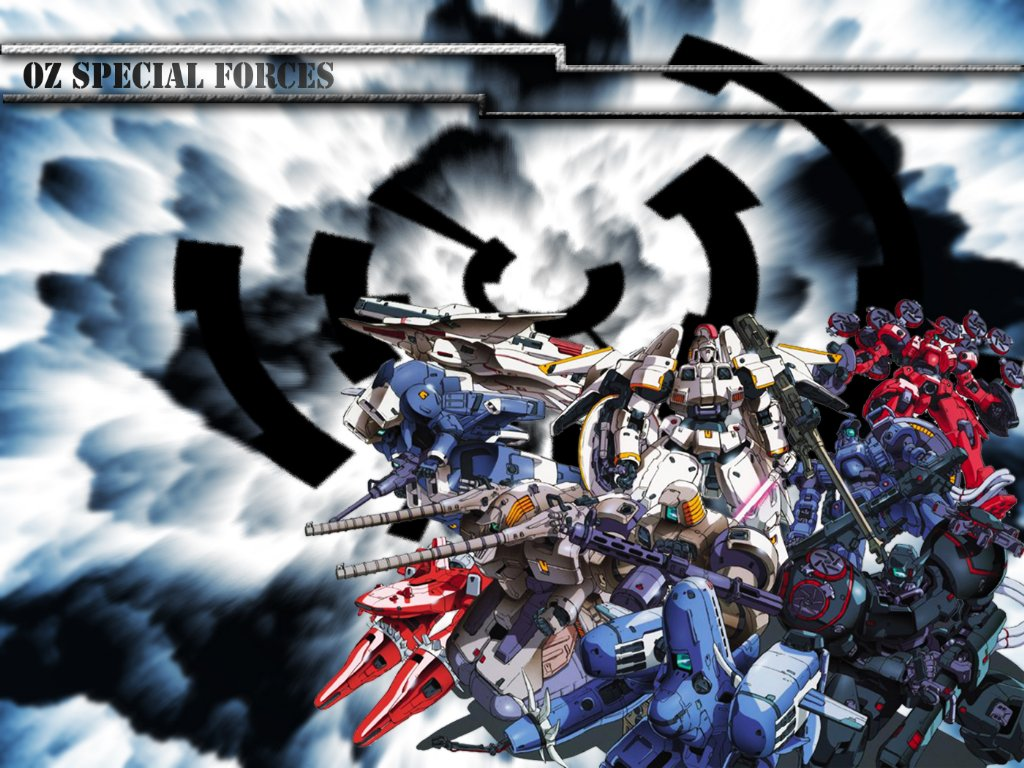 Mobile Suit Gundam Wing Wallpaper OZ Special Forces   Minitokyo 1024x768