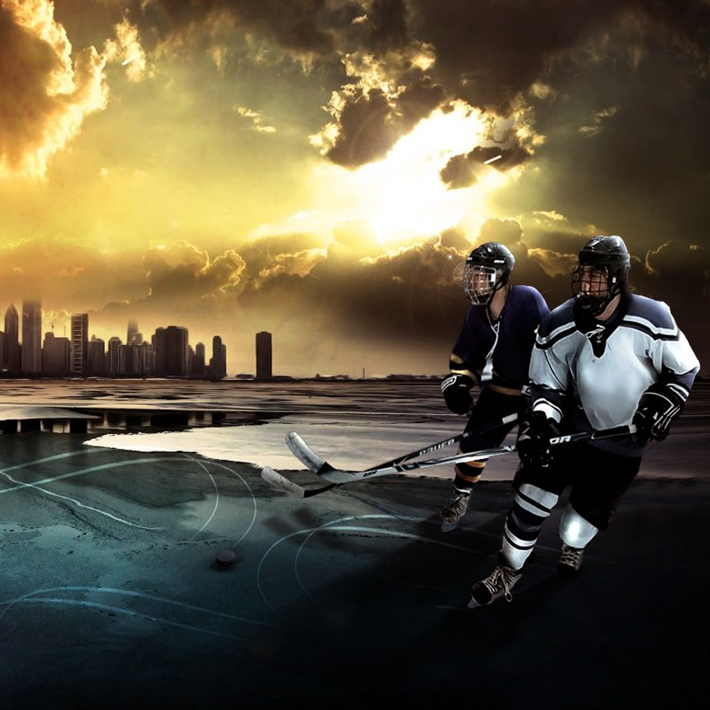 3D national hockey league NHL Wallpapers  wallpapers 1024x1024