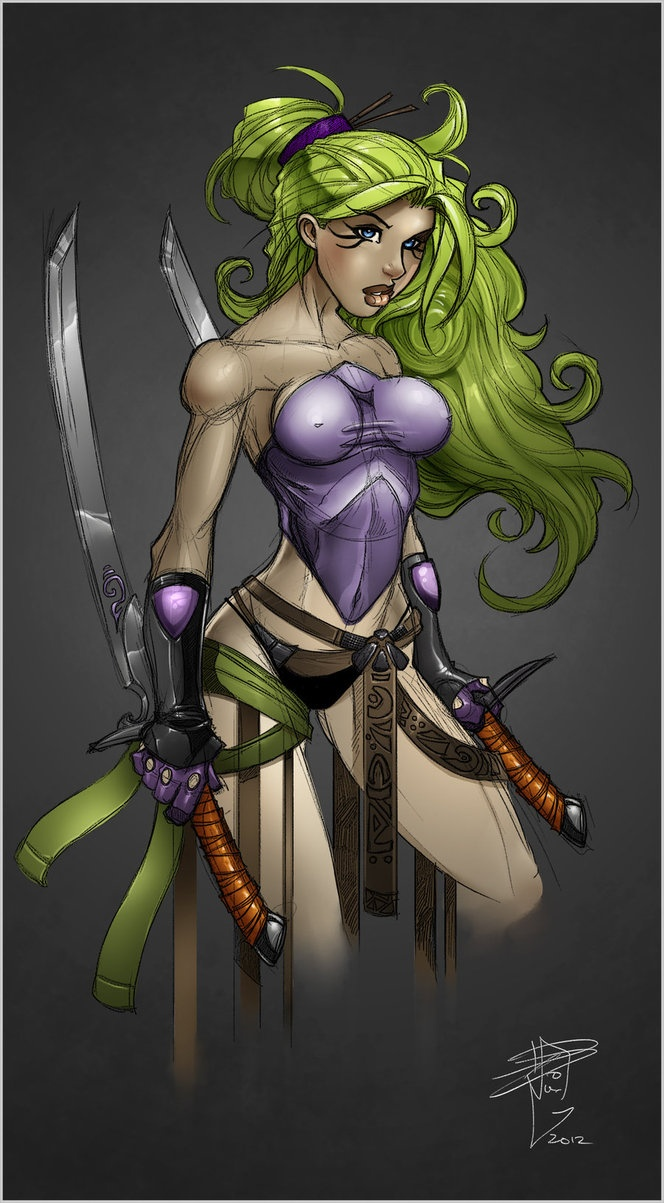 Blade Dancer by RDOWN Phone Wallpaper Pinterest 664x1203