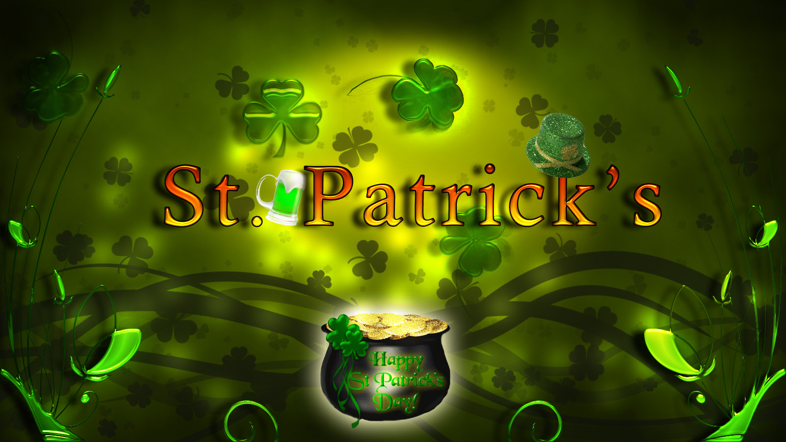 40 3d St Patricks Day Wallpaper On Wallpapersafari