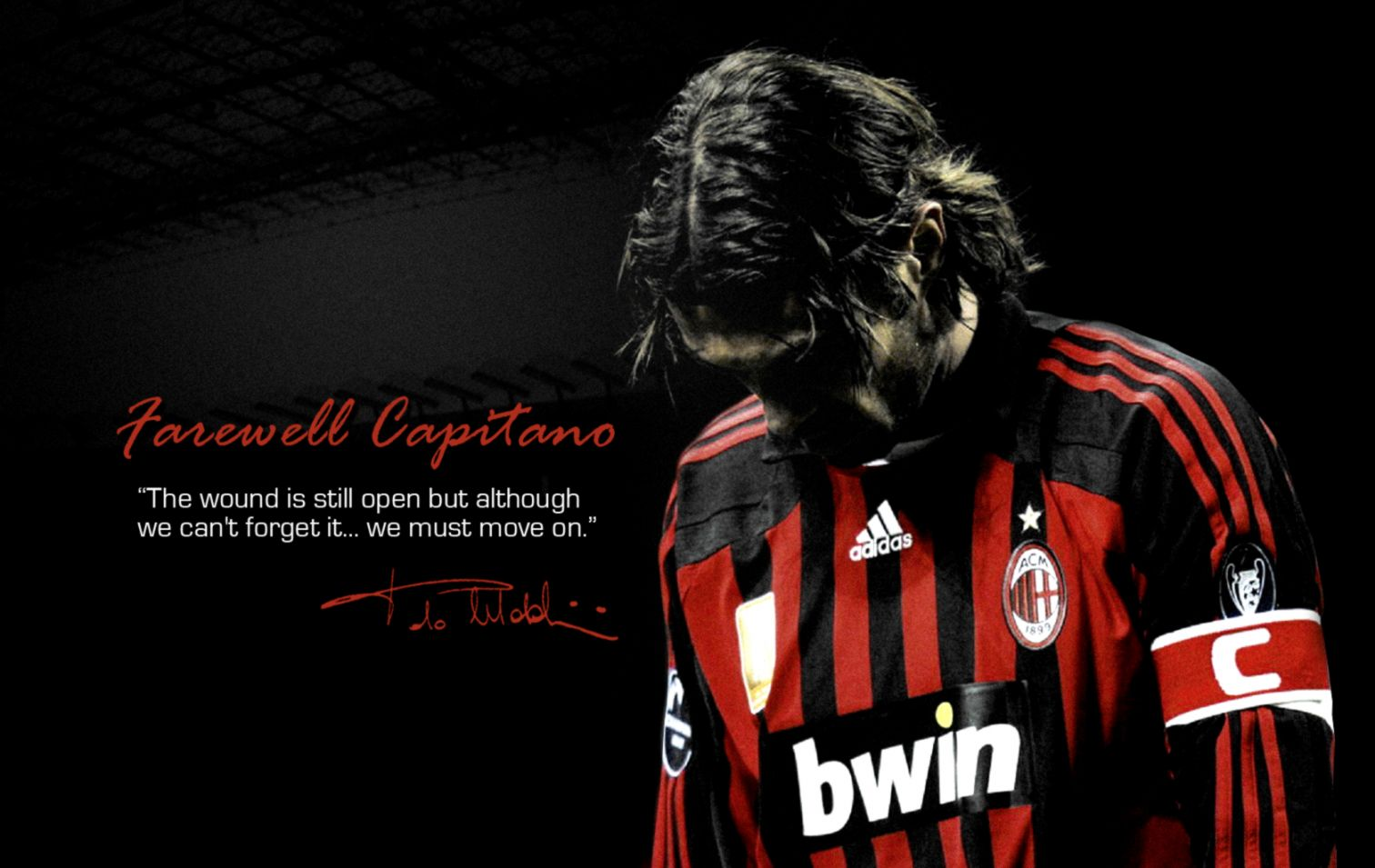 Maldini Ac Milan Legend Players Wallpaper Hd Image Wallpaper 1512x955