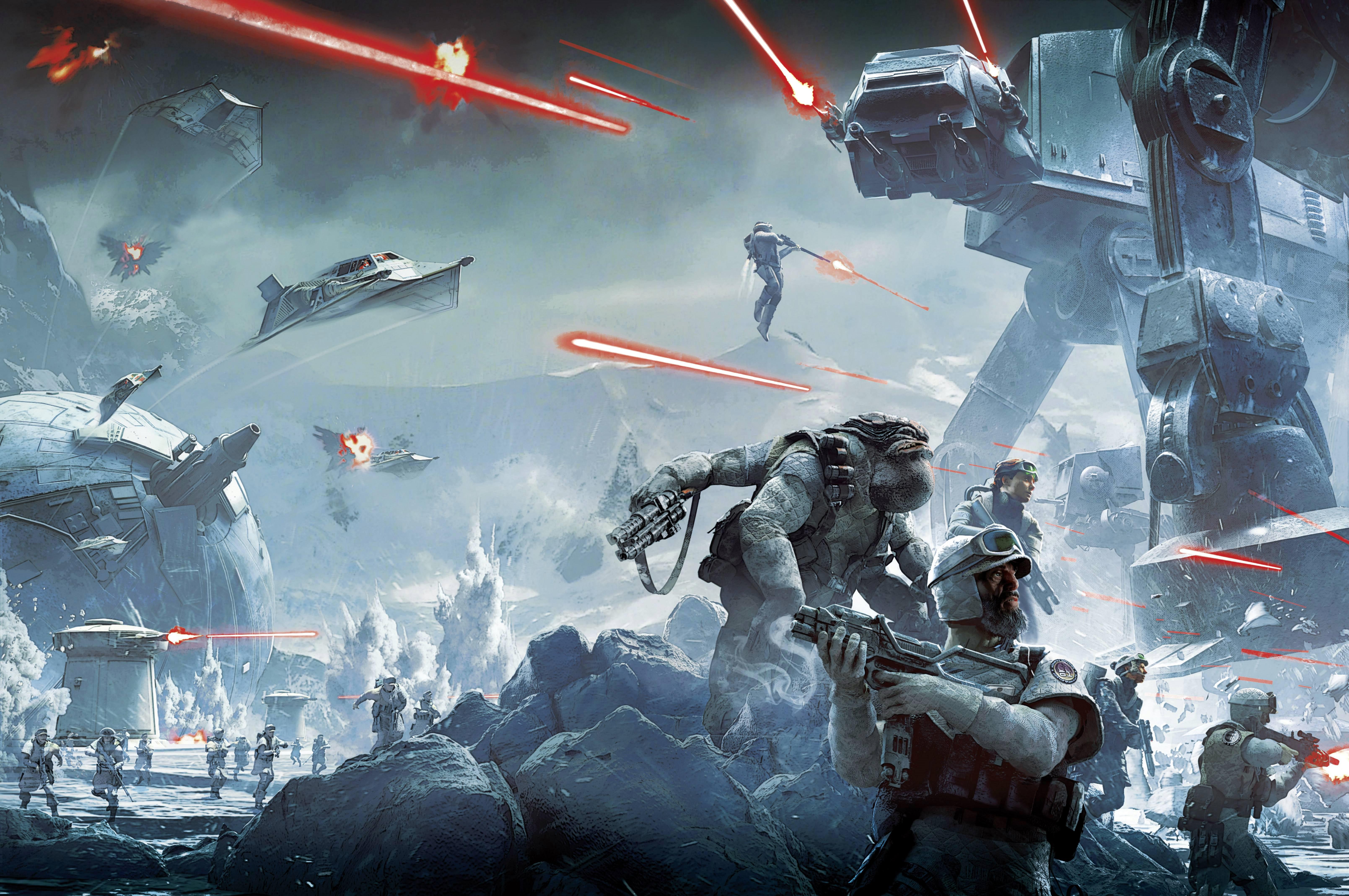 Star Wars Battlefront 5k Retina Ultra HD Wallpaper Background 6437x4277