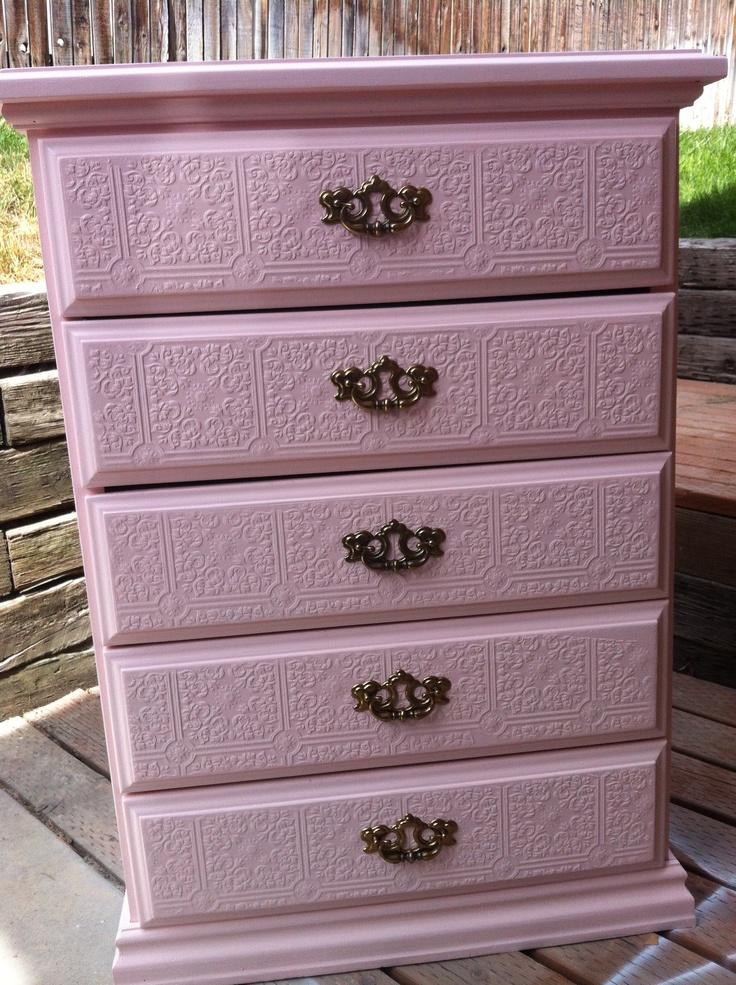 textured paintable wallpaper dresser - photo #13