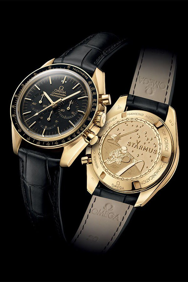 George Clooneys Omega Speedmaster Is Made Out of Moon Gold GQ 600x900