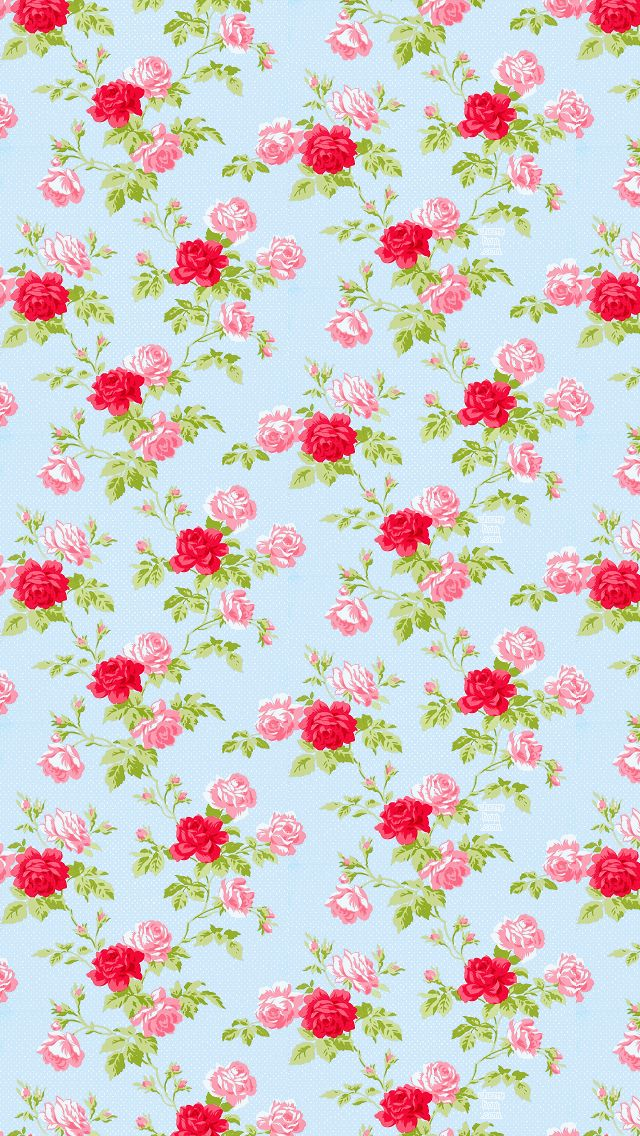 Wallpapers Vintage Floral Iphone 5 Wallpaper 640x1136