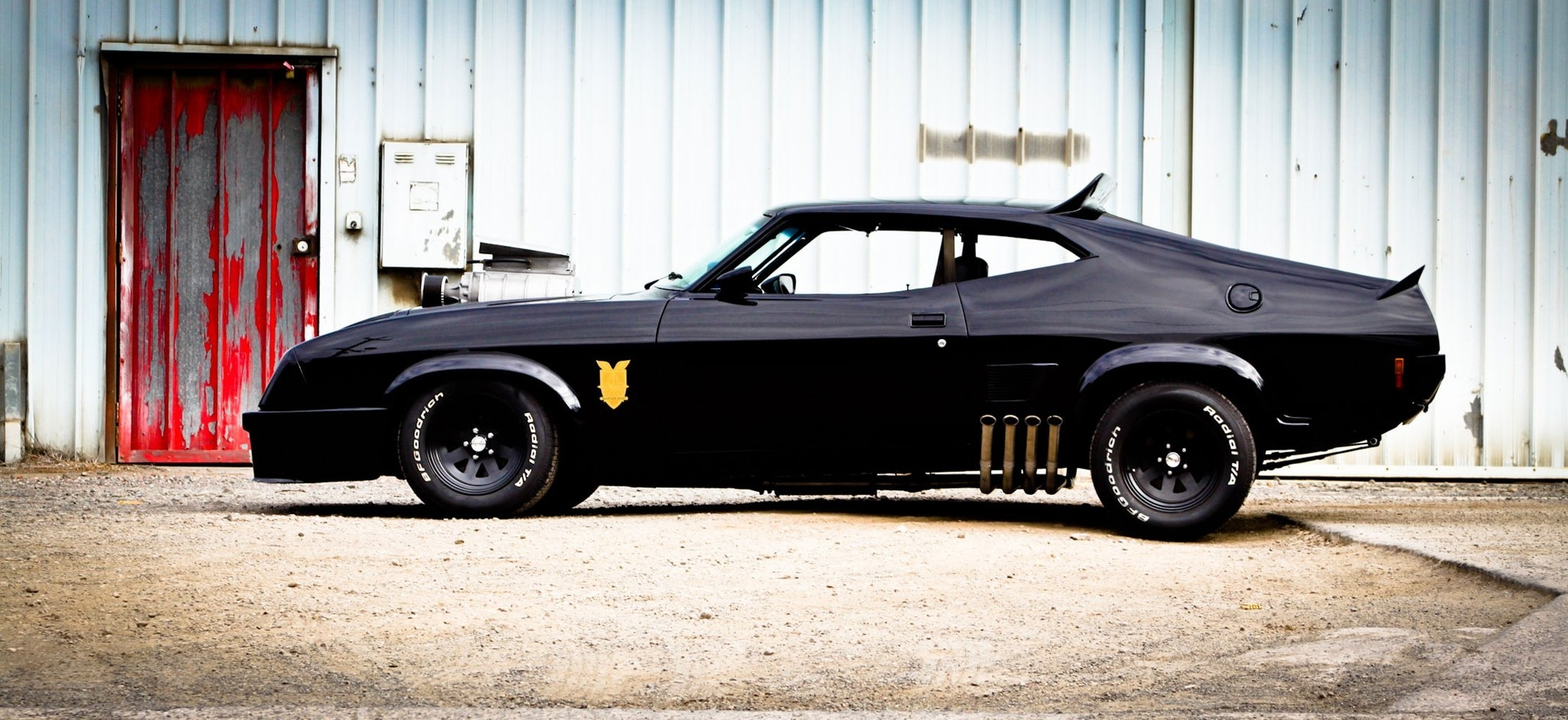 vehicles cars hot rod custom muscle black stance wallpaper background 2048x940