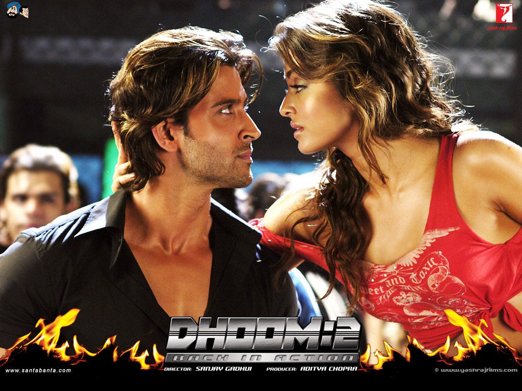 Hrithik Roshan looks back at Dhoom 2 days Movie Snippets 1024x768