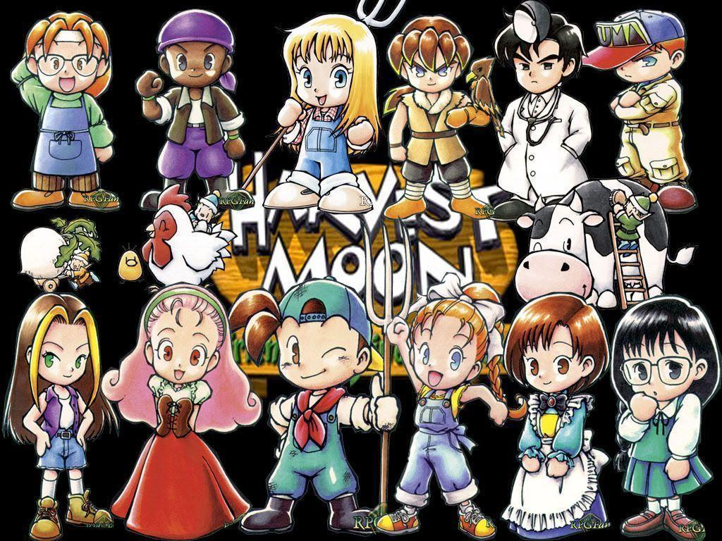 73+] Harvest Moon Wallpaper on WallpaperSafari