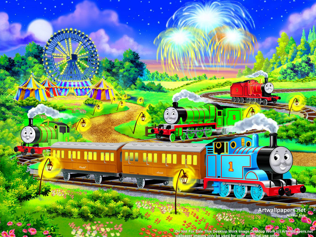 Thomas Friends Wallpapers Thomas and Friends Posters Art Prints 1024x768