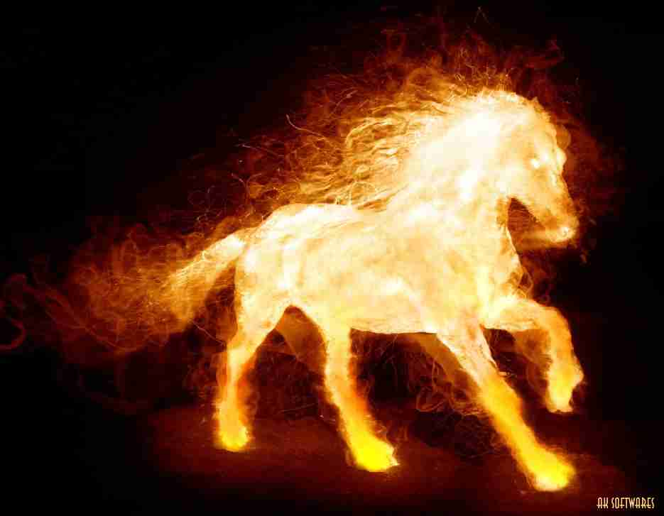 Android Phones Wallpapers Android Wallpaper Fire Horse 935x727