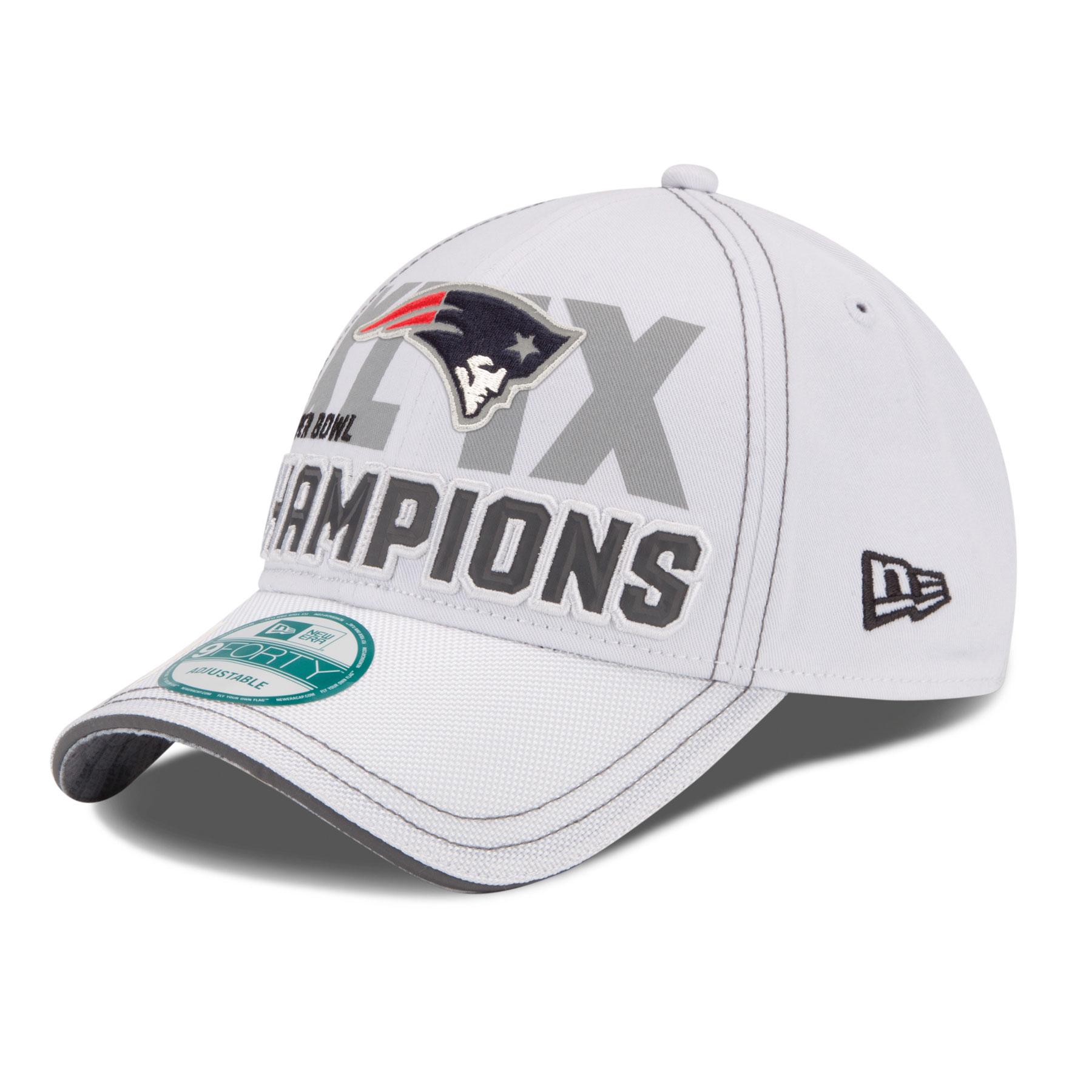 Patriots 2015 NFL Super Bowl XLIX Champions 9FORTY Locker Room Cap 1800x1800