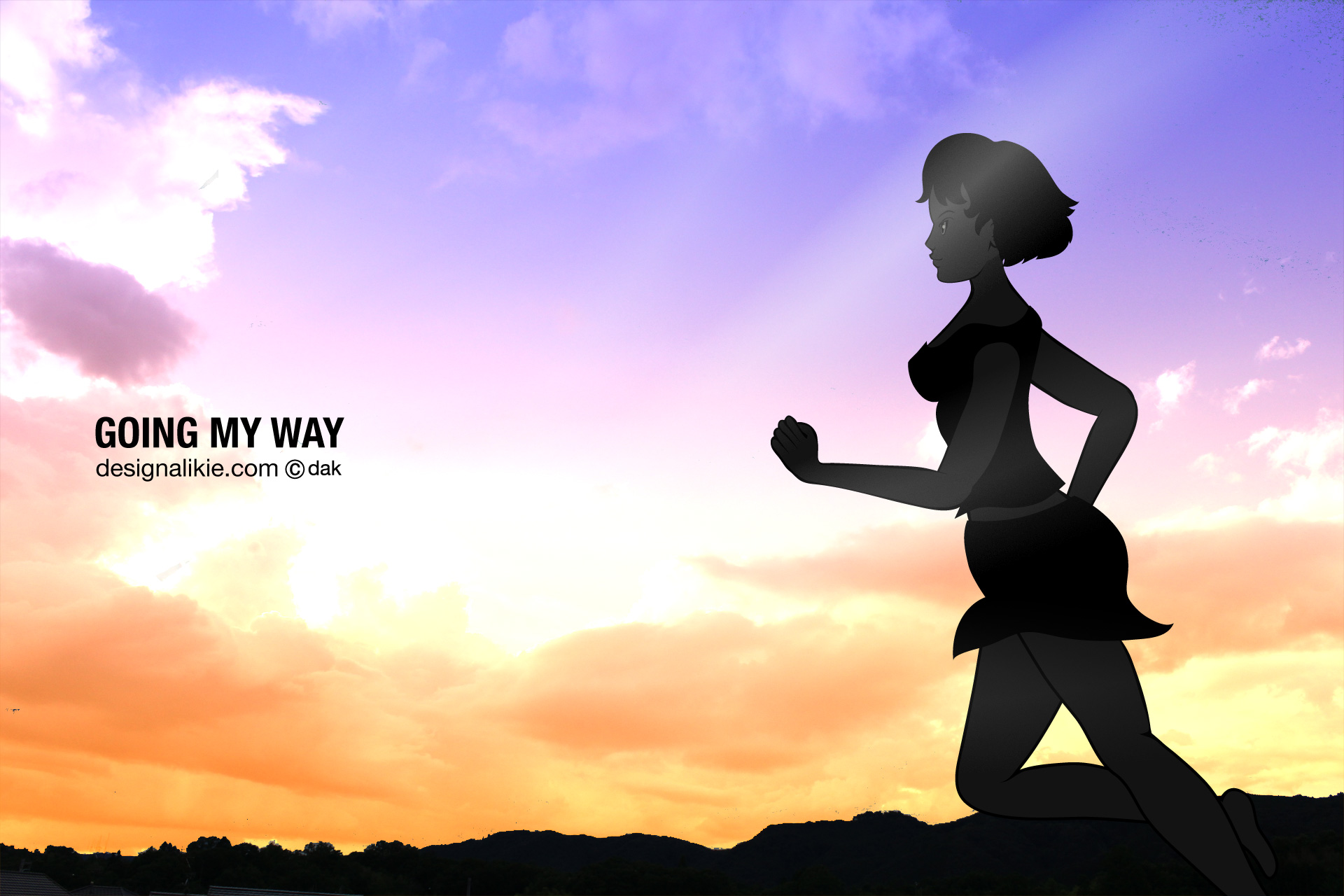 running in the sunset wallpaperi½œfree desktop wallpaper backgrounds