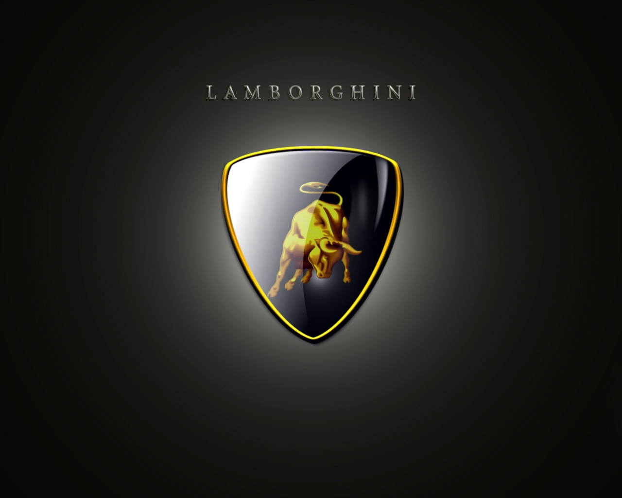 lamborghini logo wallpaper lamborghini lamborghini logo wallpaper 2 1280x1024