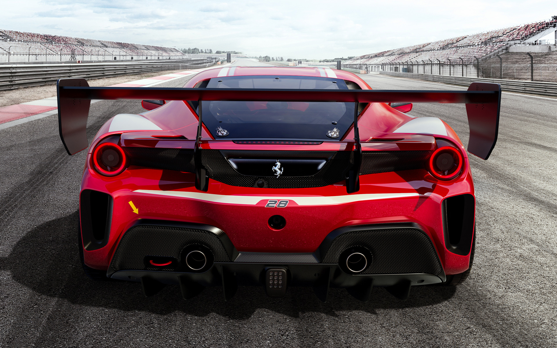 2020 Ferrari 488 Challenge Evo   Wallpapers and HD Images Car Pixel 1920x1200