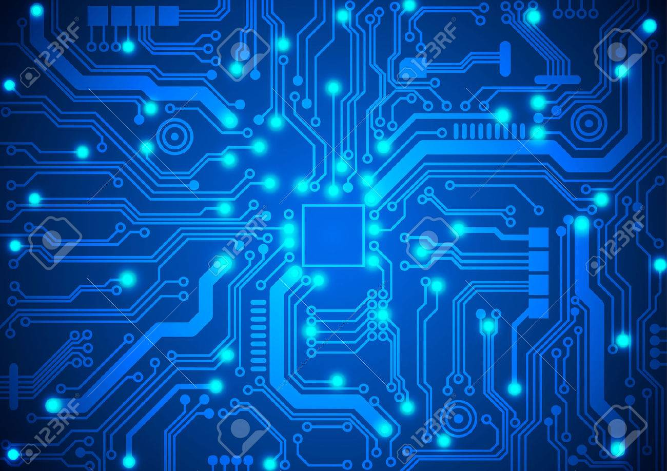 Circuit Board Background Royalty Cliparts Vectors And Stock 1300x918