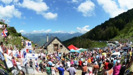 Tour de france cycling landscapes sports wallpaper 87912 441x248
