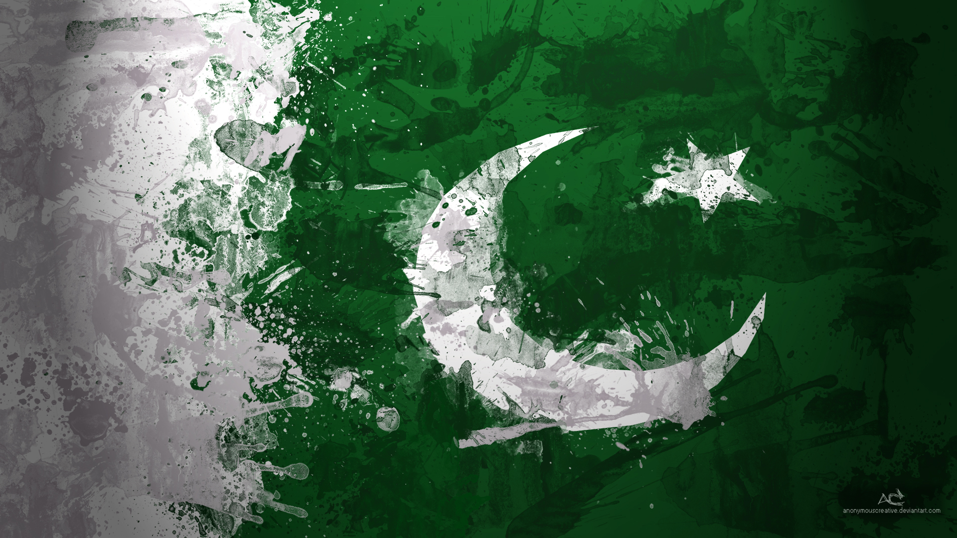 2013 Pakistan Flag Art Wallpaper High Quality WallpapersWallpaper 1920x1080