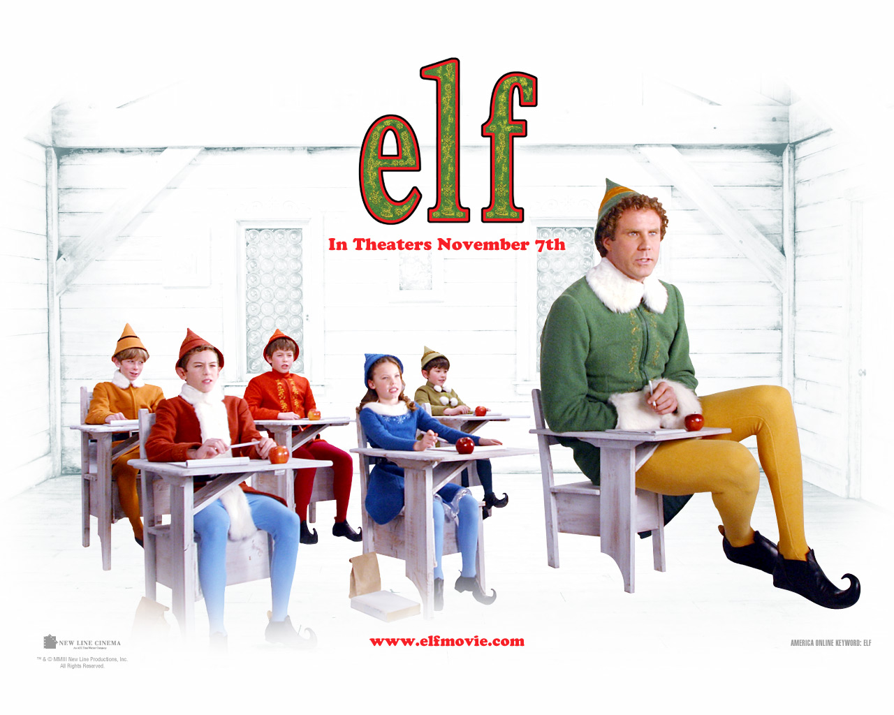 Christmas Elf 9 Desktop Wallpaper Wallpaper 1280x1024