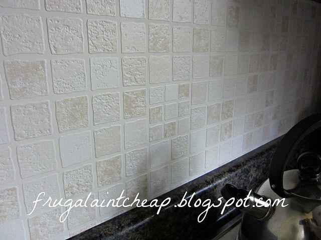 wipeablewashable wallpaper kitch n Pinterest 640x480