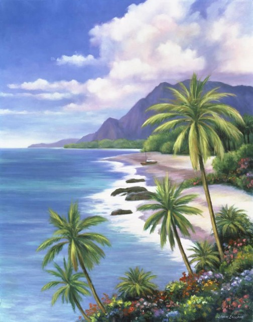 Tropical Paradise 2 Wall Art   Tropical   Wallpaper   by Murals Your 504x640