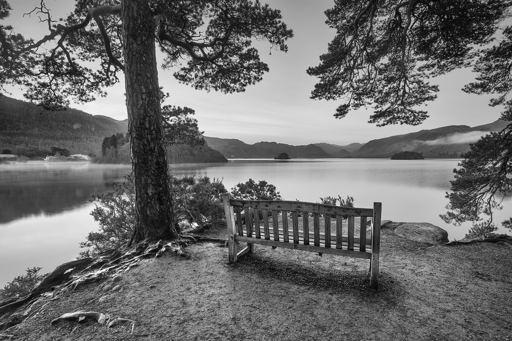 Friars Cragg Lake District Wall Mural Wallsauce US 2000x1333