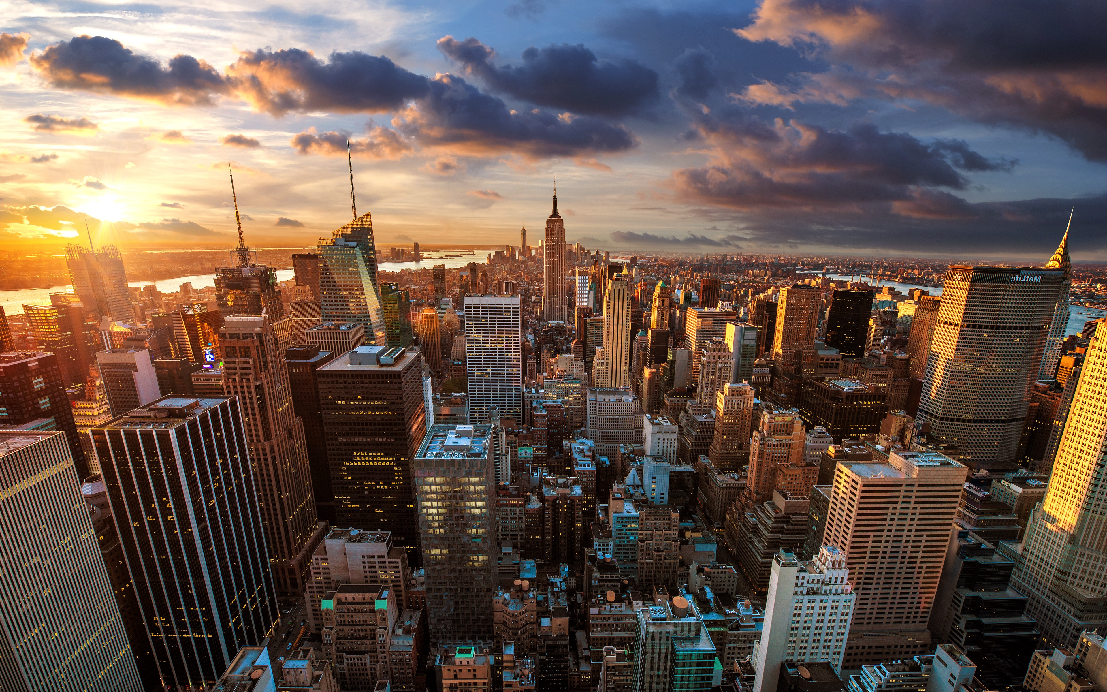 New York City Wallpaper Hd Wide Click To View Short News 3840x2400