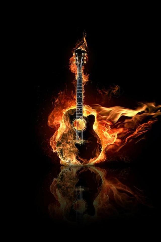 Hot Guitar Mobile Phone Wallpaper kac Guitar Cool guitar 640x960