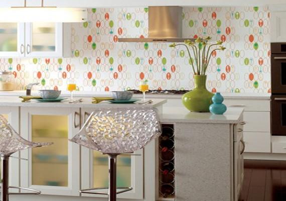 48+] Washable Wallpaper for Kitchen Backsplash on ...