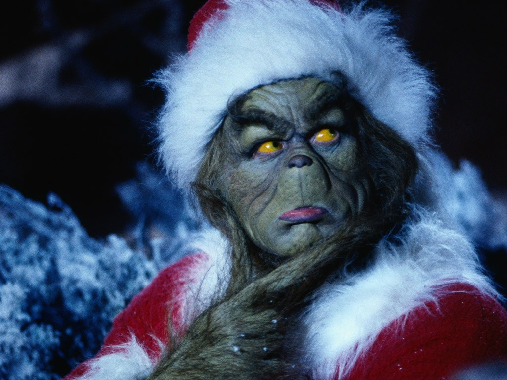 The Grinch   How The Grinch Stole Christmas Wallpaper 30805561 1024x768