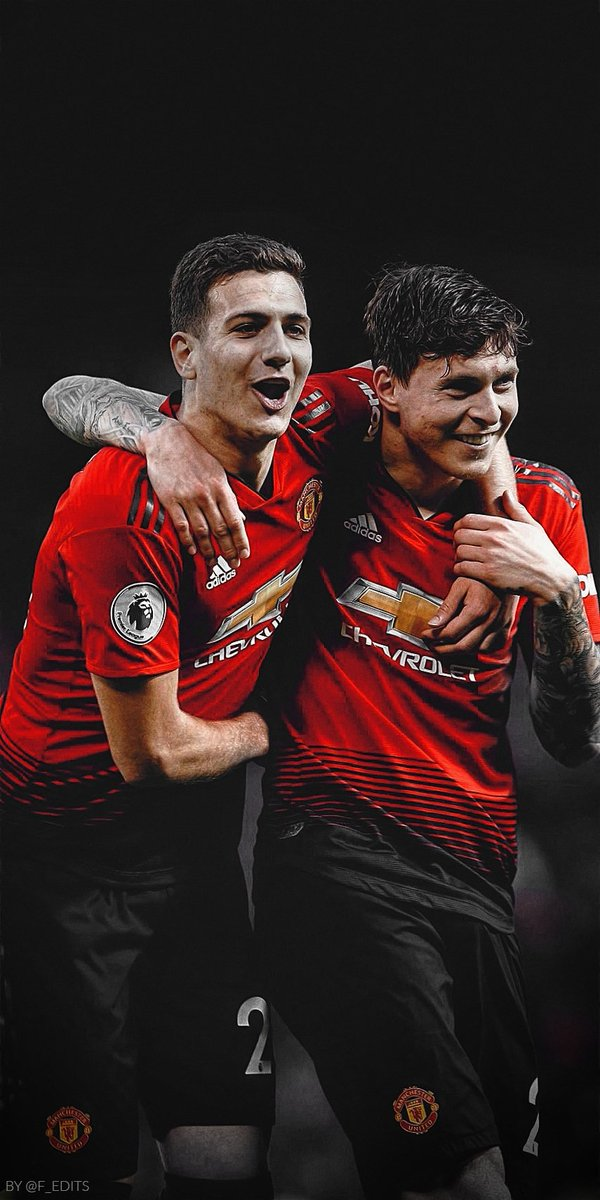 Fredrik on Twitter Diogo Dalot and Victor Lindelof wallpapers 600x1200