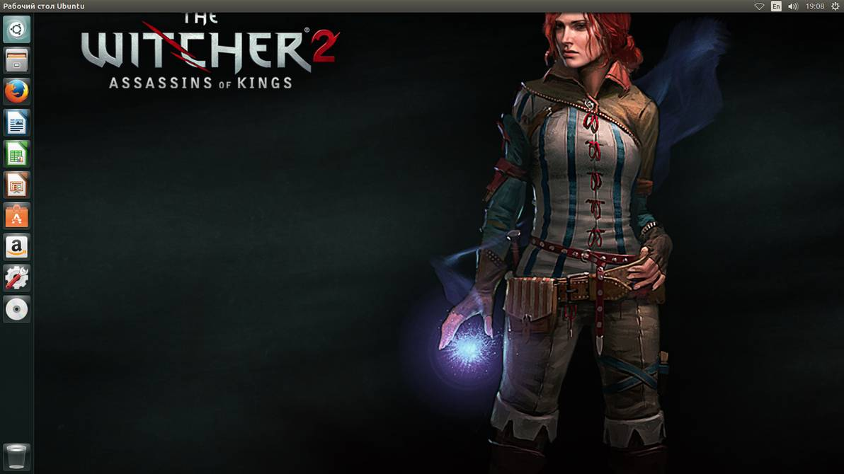Ubuntu 1404 The Witcher2 Wallpaper by Ted50 1192x670