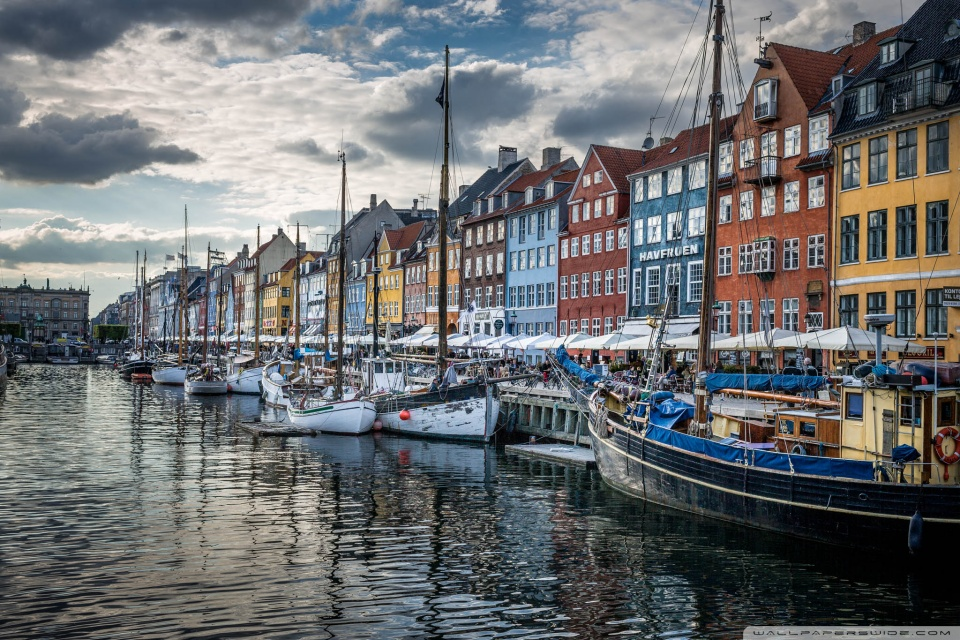Copenhagen Denmark 4K HD Desktop Wallpaper for 4K Ultra HD TV 960x640