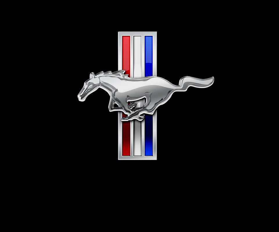 Ford Mustang Logo Wallpaper ford mustang 960x800