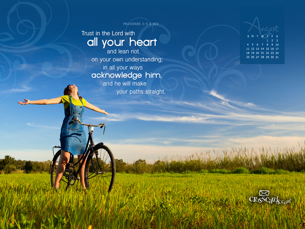 2013   Proverbs NIV Desktop Calendar  Monthly Calendars Wallpaper 1024x768