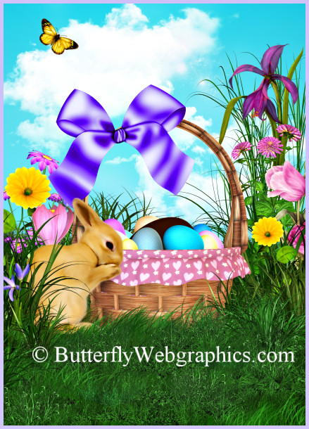 easter scenes wallpaper