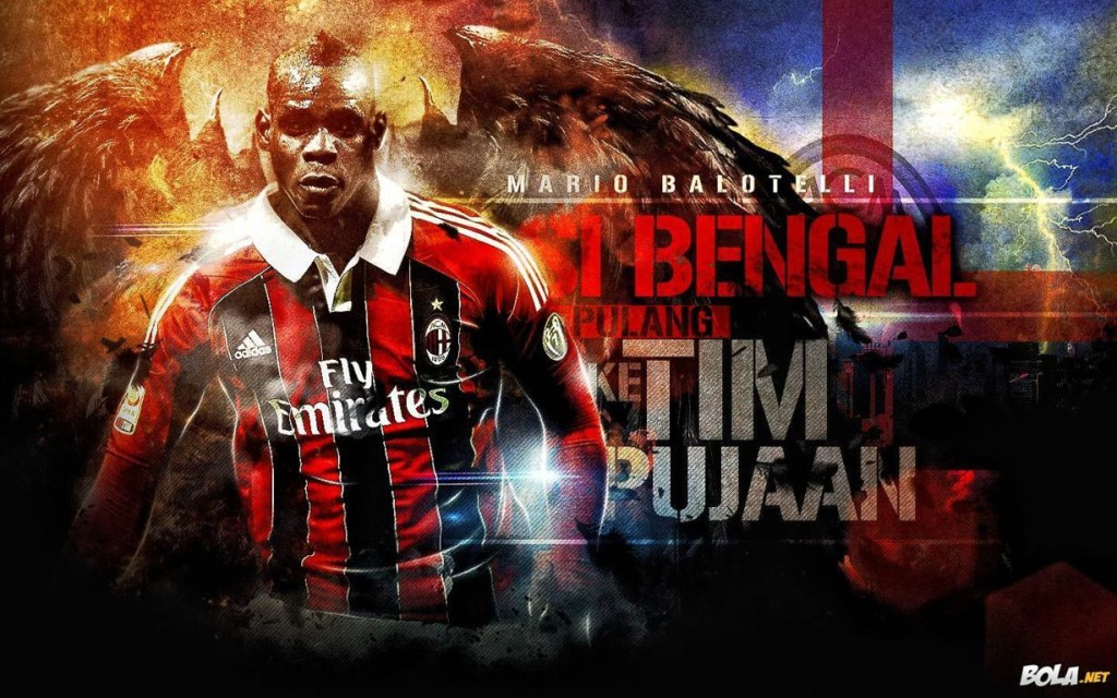 Mario Balotelli AC Milan Wallpaper HD 2013 Football Wallpaper HD 1024x640