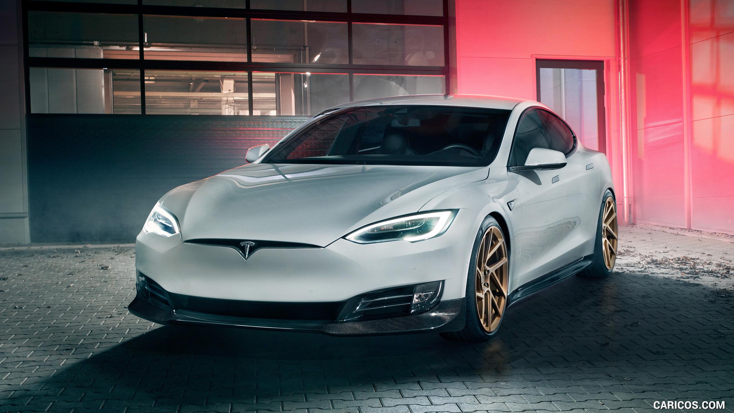 2018 NOVITEC Tesla Model S   Front HD Wallpaper 3 2560x1440