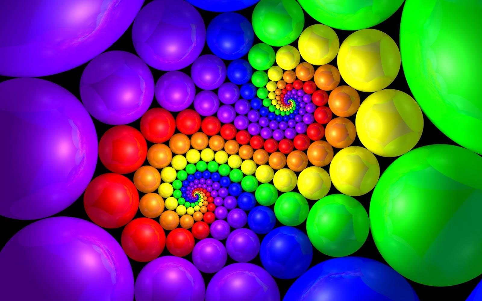 Colorful 3D Widescreen HD Desktop Wallpaper 1600x1000