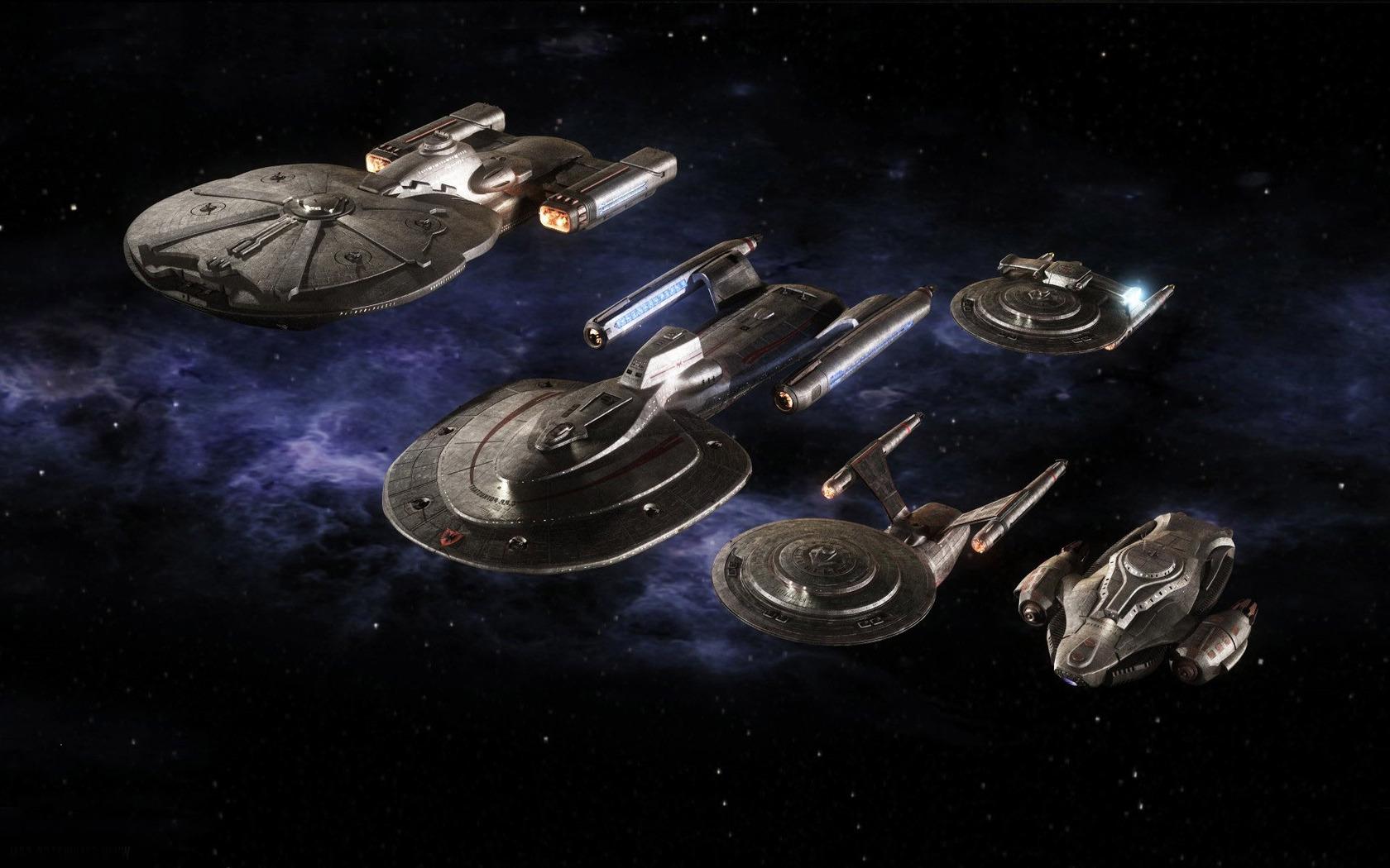 Starwreck spaceships wallpaper 3337 1680x1050